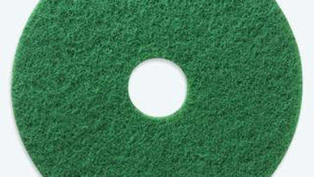 """SCOTCH-BRITE  5 Pack 17"""" Green Floor Buffing Pads"""
