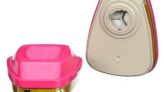 3M - Multi-Gas/Vapour Cartridge/Filter, 60926, P100