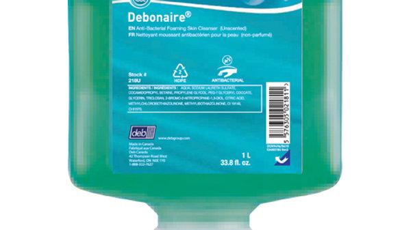 Debononaire® Unscented Anti-Bacterial Foam - 1000mL