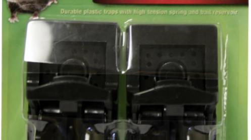 Ramik Mouse Snap Traps, 2pk