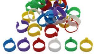 Plastic Leg Bands - Clip, 16mm