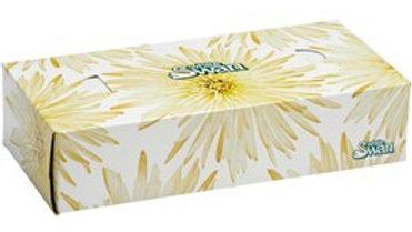 WHITE SWAN  30 Boxes 100 Sheet 2 Ply White Facial Tissues