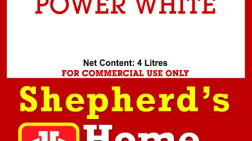 Power White Liquid Detergent, 20L