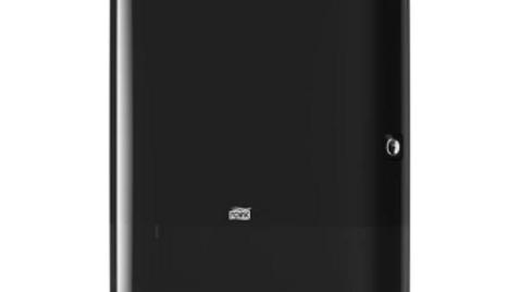 Tork Xpress Interfold Towel Dispenser, Black