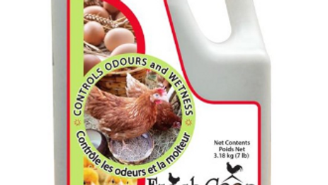 FRESH COOP - 3.18kg Odour and Moisture Diatomaceous Absorbent