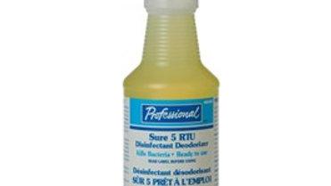 Home Professional - Sure 5 All Purpose Cleaner & Disinfectant RTU, 946mL