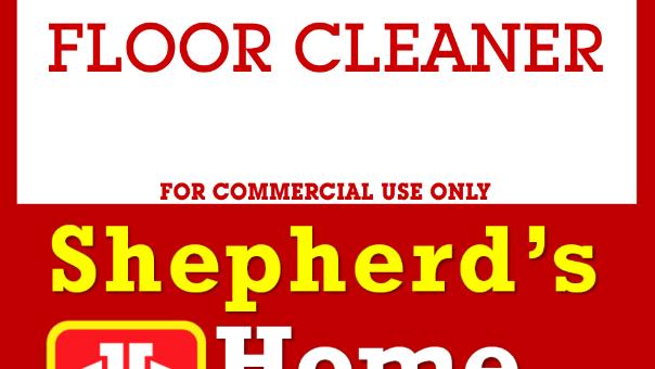 Industrial Floor Cleaner, 20kg