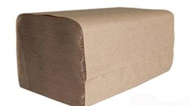 ENVIROLOGIC  250 Sheet Brown Single Fold Paper Towels, 16 rolls per case