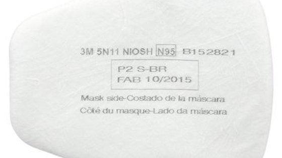 3M - Particulate Filter, 5N11, N95, 10/box