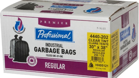 """Home Professional - 250 Pack 30"""" x 38"""" Regular Clear"""