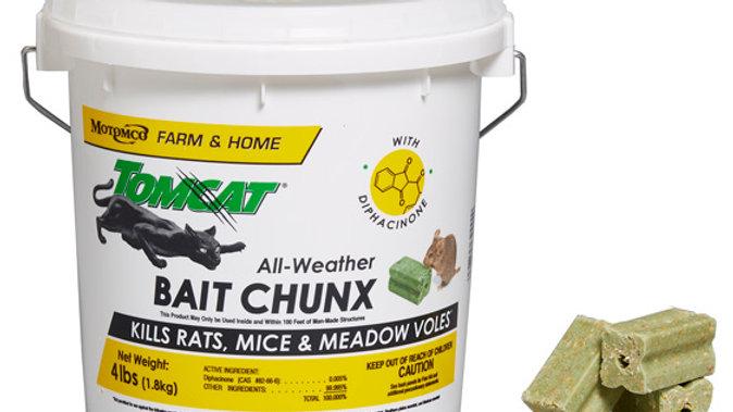 Tomcat All-Weather Bait Chunx, 4kg