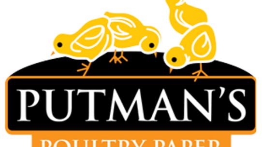 """Putman's Poultry Paper - 30"""" x 1850'"""