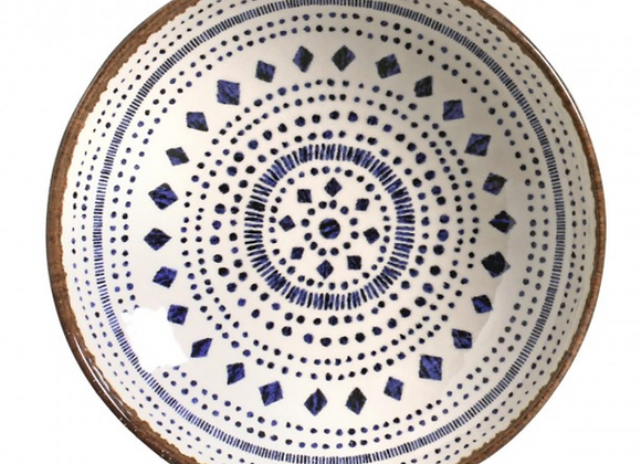 Jogo de 6 Pratos Fundos Asteca - Porto Brasil Cerâmica