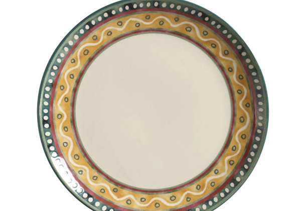 Jogo 6 Pratos Rasos Yucatán - Porto Brasil Cerâmica