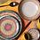 Thumbnail: Jogo 6 Pratos Sobremesa Yucatán - Porto Brasil Cerâmica