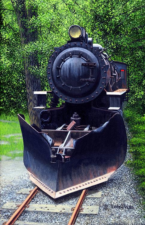 White Pass Locomotive