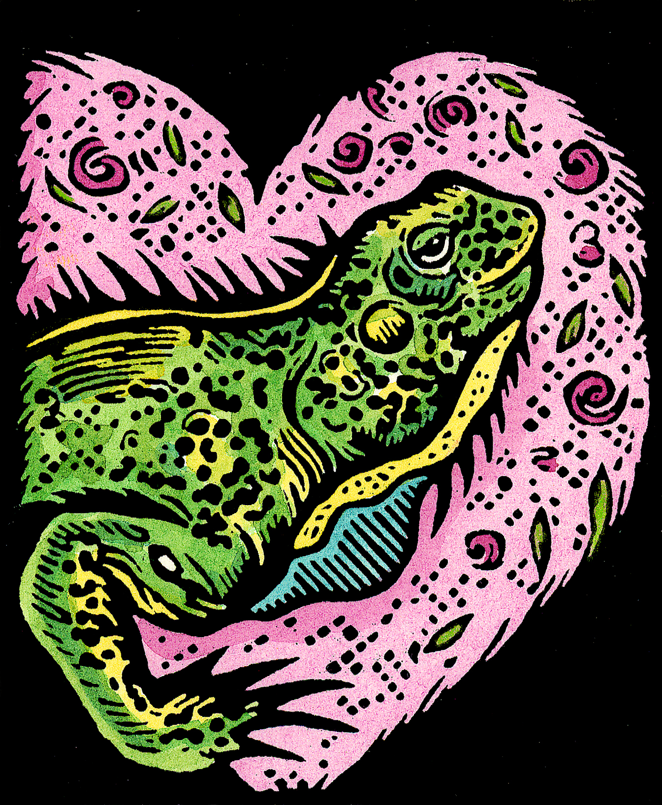 Iguana Bask in Your Love