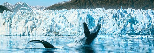 Humpbacks and Glacier