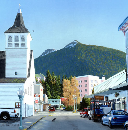 Mission Street, Ketchikan
