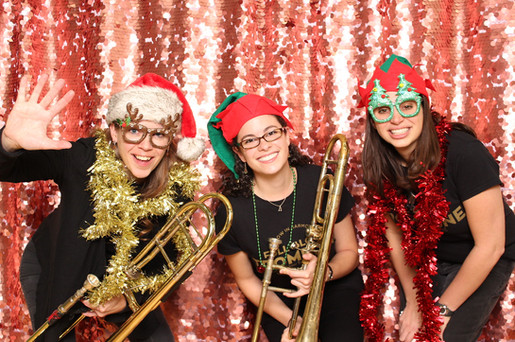 Teachers take over the photo booth!