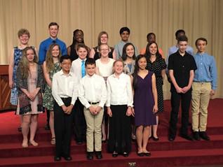 2017 Recital Participants
