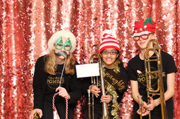 Students take over the photo booth!