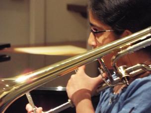Aanya playing beautifully at the 2019 recital