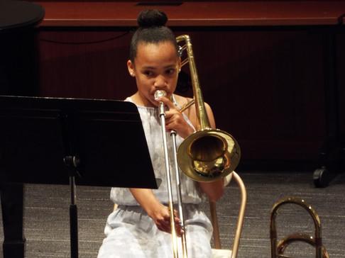 Scout's first recital! Bravo!