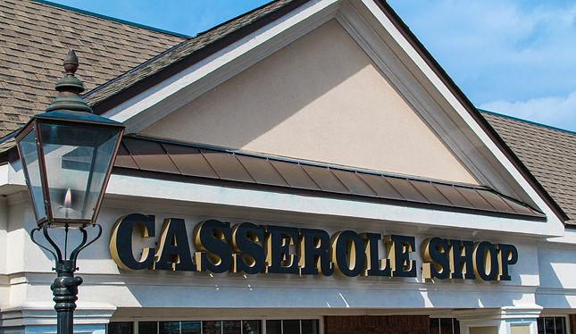 Casserole Shop Macon Front Sign