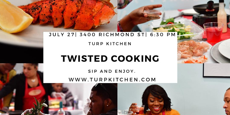 TWISTED COOKING
