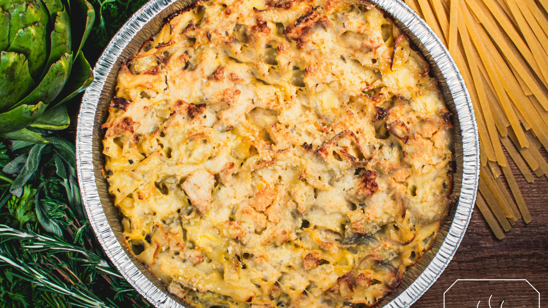 Chicken & Artichoke Casserole