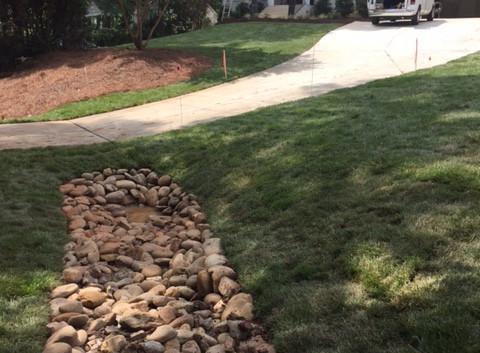 Attractive drainage