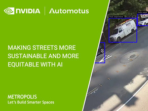 Automotus joins NVIDIA Metropolis to help launch nation's first zero-emissions delivery zone
