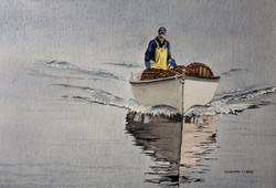 """Pêcheur de homards"", Terre Neuve"
