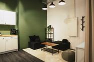 Büro und Besprechung