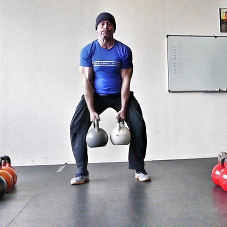 Kettlebell Man Maker PR 36+36 kg