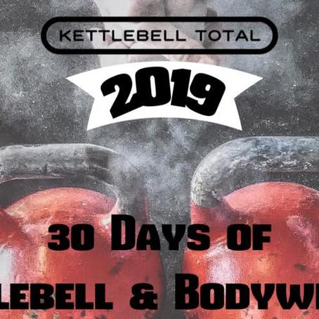 Kettlebell Man Maker Challenge 2019