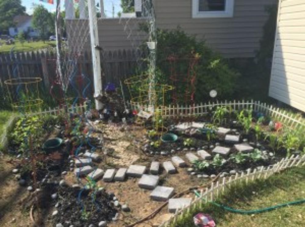 The Garden earlier this Spring.