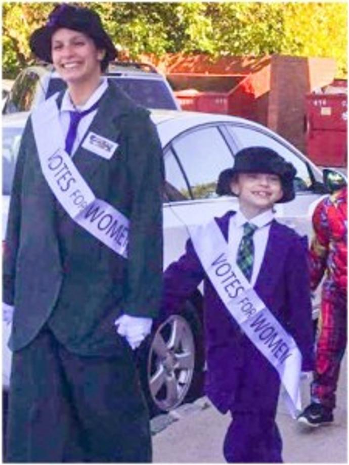suffragette halloween costume