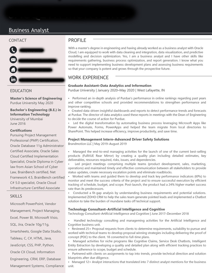 Resume Ready to Give You Confidence and the Details You Need!