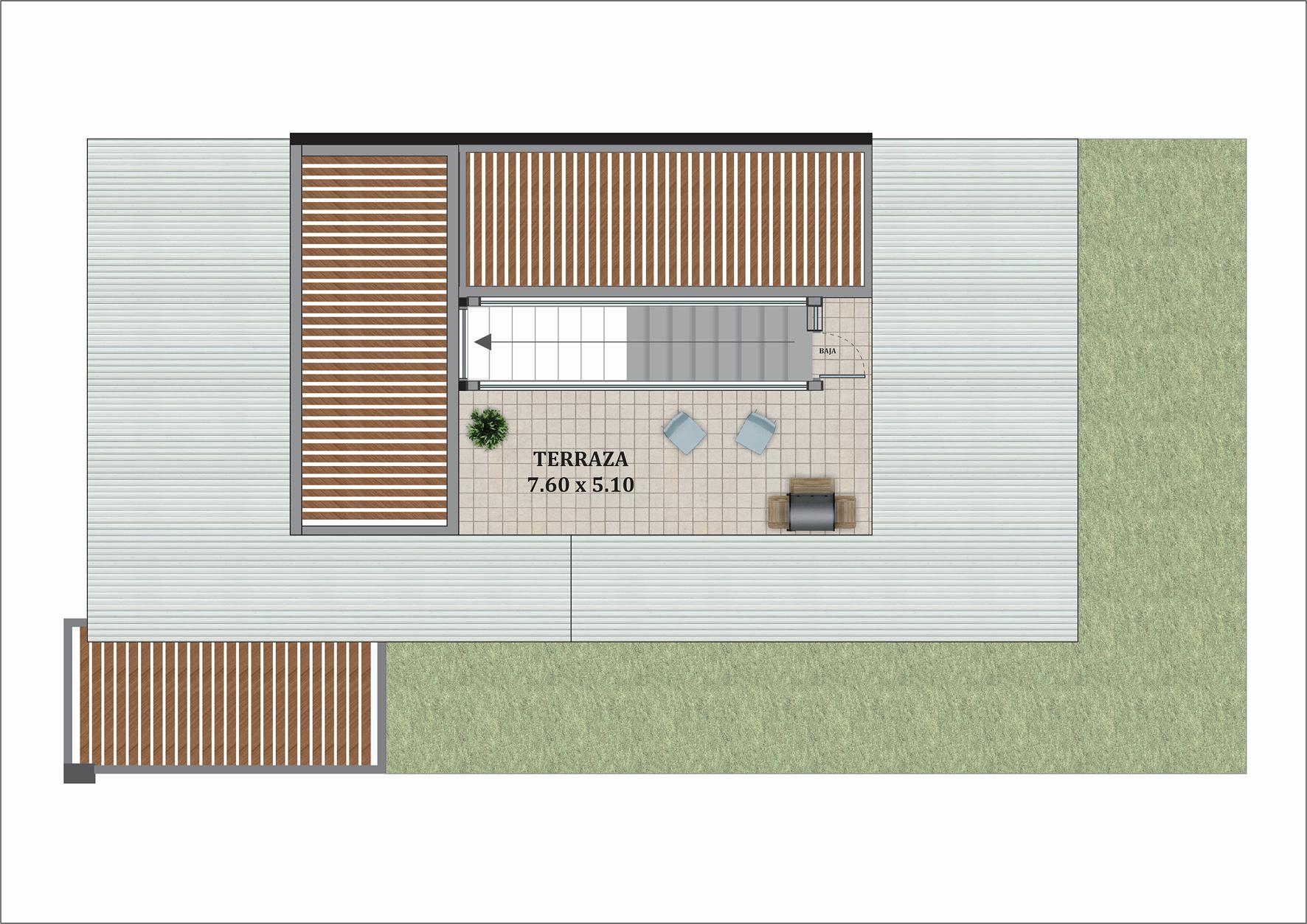 Casa Premium tipo A Terraza