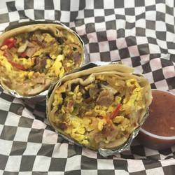 Kitchen Sink Burrito