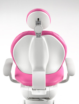 A‑dec_311_chair_with_fuchsia_upholster