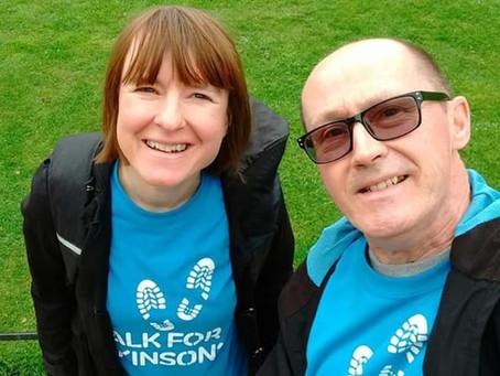 Emma & David complete their walk!