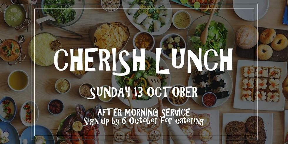 CHERISH lunch