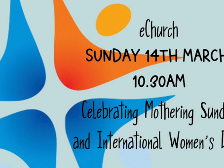 Join us online this Mothering Sunday..!