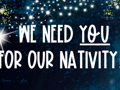 Nativity - be involved!