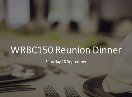Reunion dinner reminder