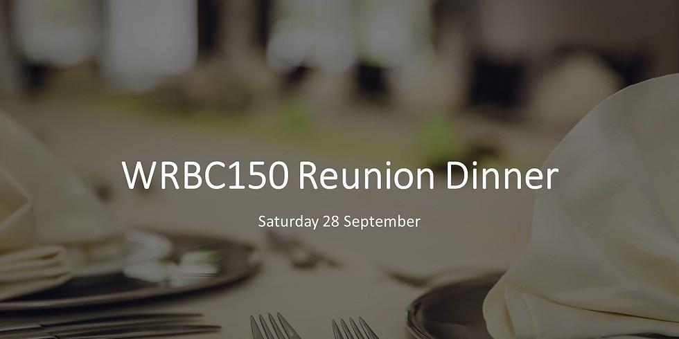 WRBC150 Reunion Dinner