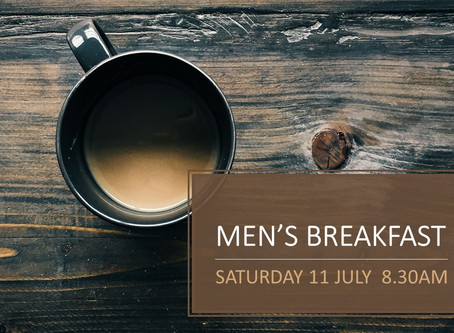 Men's Breakfast (online)